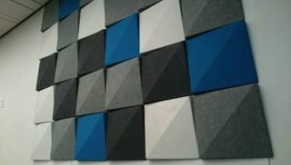 Acoustic Panels at Strathclyde University