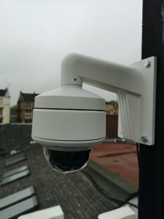 4K CCTV in The Ubiquitous Chip, Ashton Lane