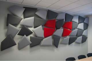 Acoustic panels at QEUH